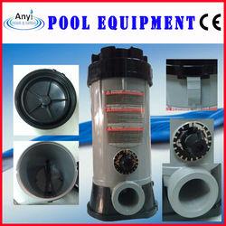 Swimming pool automatic circular chlorine pill feeder