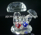 Romantic Crystal Wedding Couple Bear Figurines For Wedding Gifts&Souvenir