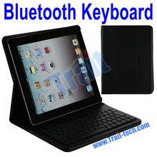 HOT Wireless Bluetooth Keyboard Leather Stand Case For iPad 2 iPad 3 iPad 4