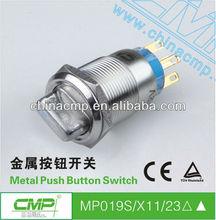 CMP 19mm Illuminated Rotary Switch -Arrow Symbol Light