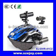 HD AT19 mini action camera for ski helmet cover waterproof 1080p&EJ-DVR41C2