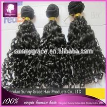 Natural color Tight curl Eurasian hair extension