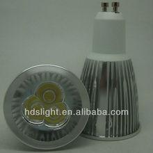 Más barato %%% venta caliente led gu10 bombillas 5 w blanco cálido