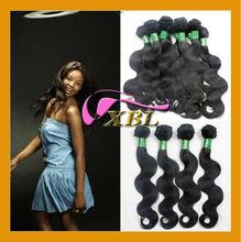 Guangzhou Xibolai hair 100% human virgin hair extensions, cheap malaysian hair