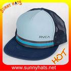 NEW CLASSIC FOAM FLAT BILL MESH TRUCKER HAT BASEBALL CAP