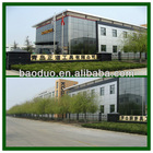 module steel frame prefab house for office building