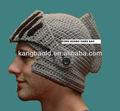 2015 nuevo diseño knight's de ganchillo beanie casco