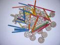 de choque thinkertoy juguete para los niños pasado el ce hecho en fabricante de juguetes procedentes de china