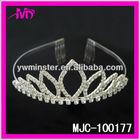 large cheap bridal princess rhinestone tiaras