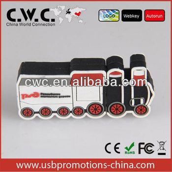 usb pvc meterial,car mold usb sticks,logo print,multicapacity