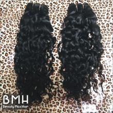 BeautymaxHair 5A Grade Kinky Curl Curly Virgin Malaysian Remi Velvet Hair Weave