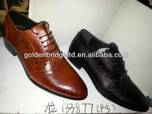 export shoes with leather or canvas customized