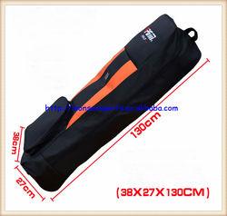 lightweight golf travel bag black orange nylon material FLTF