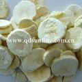 congelación secas de plátano en rodajas