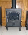 Cast Iron Free Standing Indoor & Outer door fireplace/ Chimney
