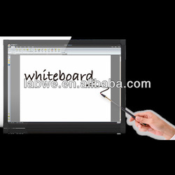 Interactive Whiteboard with multi touch features anti-jagged line technology
