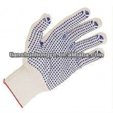 desposable dotted industrial gloves for worker to protect
