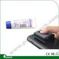 Escáner con el código de barras de mano