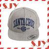 good embroidery snap back flat golf cap