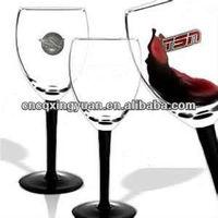 V stem wine glass