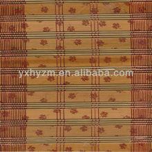 Printed bamboo blind