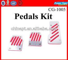 Slip-Proof Vehicle Gas-Brake-Clutch Pedal Car Kit (3-Piece Set)