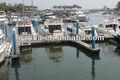 alumínio barco flutuante de amarração de plataforma