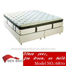 Queen futon pocket spring mattress _soft and comfortable with elegant cover