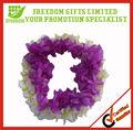 Promotion belle couleur personnalisée hawaï fleur guirlande