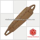 Drop-thro longboard,3 ply bamboo+2 ply glass fiber longboard skateboards wholesale