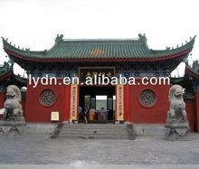 tradizionale cinese tegole in argilla per il tempio restauro