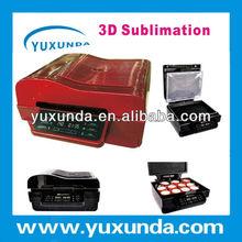 Yuxunda mini 3D heat press machine for phone case, ipad case, mug, t-shirt,crystal, badge with vacuum box