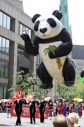 2013 giant Inflatable panda for carnival exibition advertising