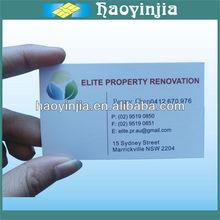 High grade kraft paper business card printing