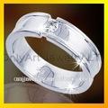 venda quente baratos multa loja de jóias de prata esterlina anéis de casamento com alta qualidade aceitável paypal