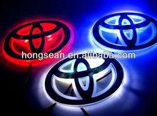 HOT SALE!!!Car logo lamp Car emblem in the rear Car standard lamp badge warning light