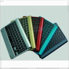 2013 new M6 Wireeless Aluminum bluetooth keyboard for iPad Mini P-iPDMINIBTHKB010 P4P