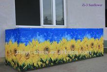 Shifting pattern printing polyester balcony decorating