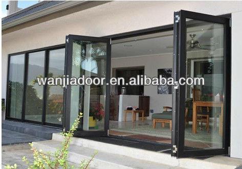 Puertas Plegables Aluminio Exterior Exterior de Aluminio Plegable