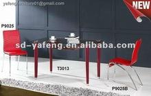 Melhores ferro preço sala de jantar set tabela T3013-P9025-P9025B