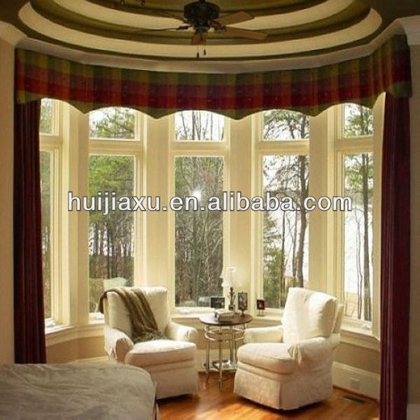 European Style Bay Windows Pvc Bow Windows Curved Window