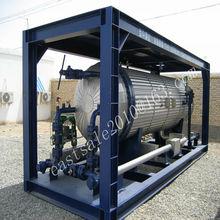 ASME diesel storage tank copper coil heat exchanger