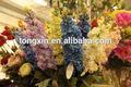 venta al por mayor 27734pn flores de seda violeta los supermercados y venta de productos en el europeo