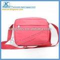 Venta caliente de color rosa bolsa de transporte para el ordenador portátil, simple pero de moda