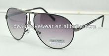 2013 popular aviator metal sunglasses for men