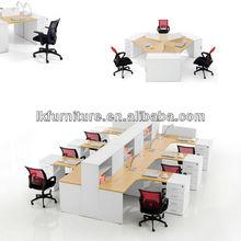 Hot Sale Office Desk With Mobile Pedestal