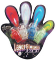 4pc blinkende led laser finger licht