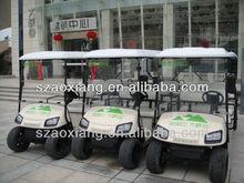 6 person golf cart Green electric vehicle cheap electric golf cartsAX-B9+3