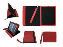Stand PU leather case for ipad ipad2 ipad3 ipad4 high quality