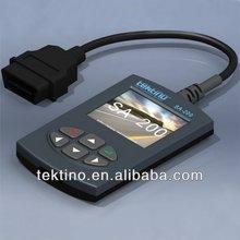 CE & FCC Certified, Tektino SA-200 Car Pin Code Reader